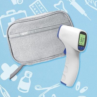 [Anti-epidemic Set] JUMPER Thermometer + Multi-function Travel Pouch