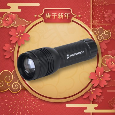 F10 Portable Flashlight (Full Set)