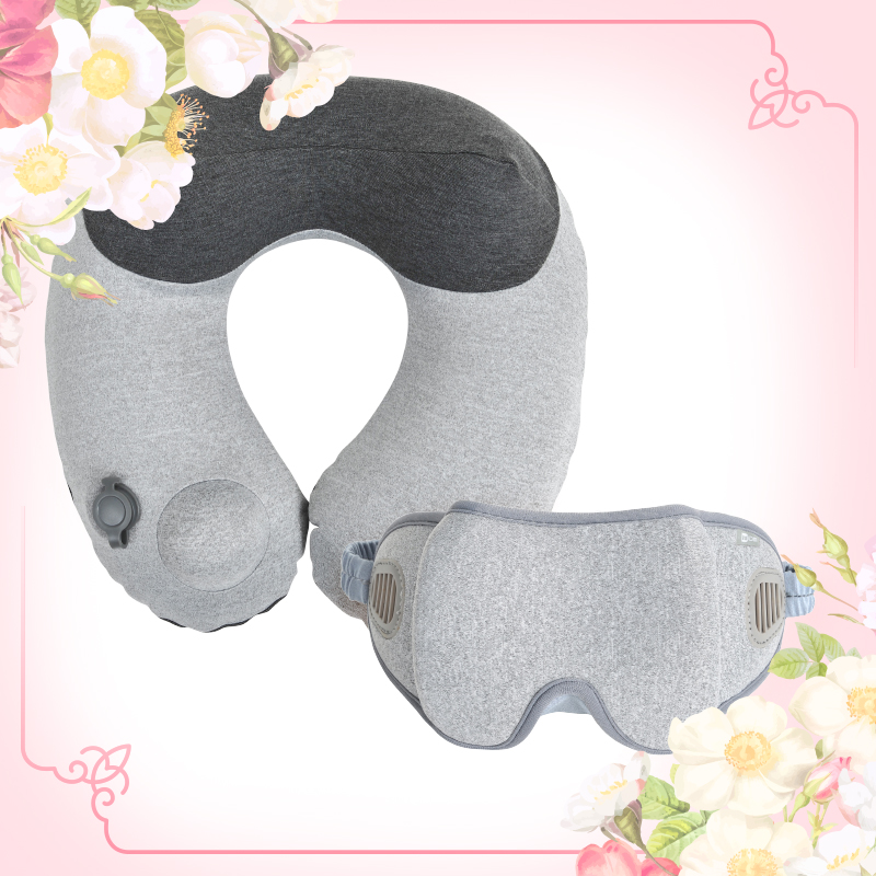 Travel Set (Comfy Travel Pillow + Goodnight Eye Mask)